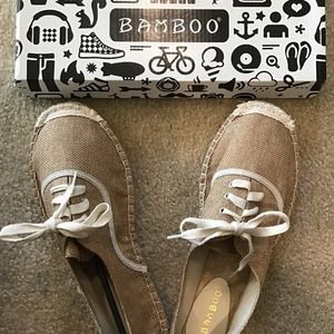 Casual, Linen-like Fabric Shoes